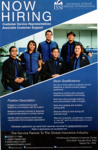 Insurance Support Services International Corporation| Jobs180.com